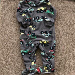Carters 12 M pajamas monster truck